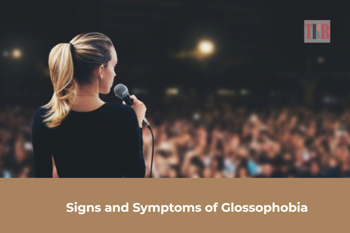 Signs and Symptoms of Glossophobia